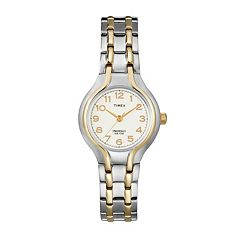 Timex Women's Two Tone Dress Watch - T271919J