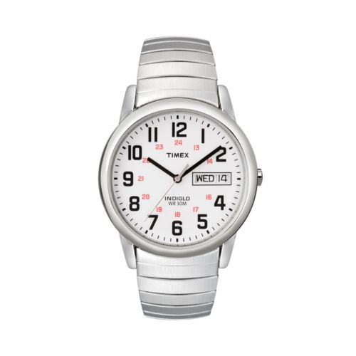 Timex Stainless Steel Easy Reader Expansion Watch - T204619J - Men