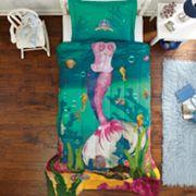 Dream Big Sea Princess 2 pc Comforter Set - Twin