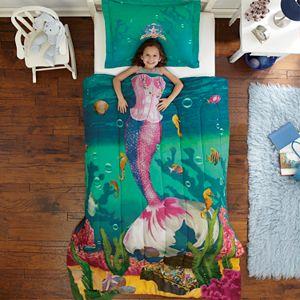 Dream Big Sea Princess 2-pc. Comforter Set - Twin
