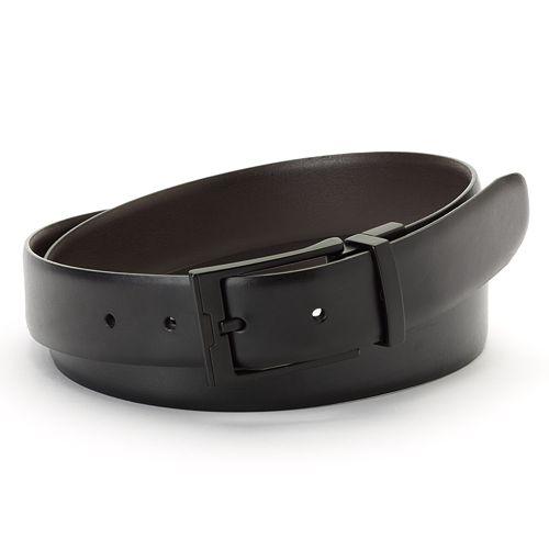 Apt. 9® Cop Reversible Faux-Leather Belt - Men