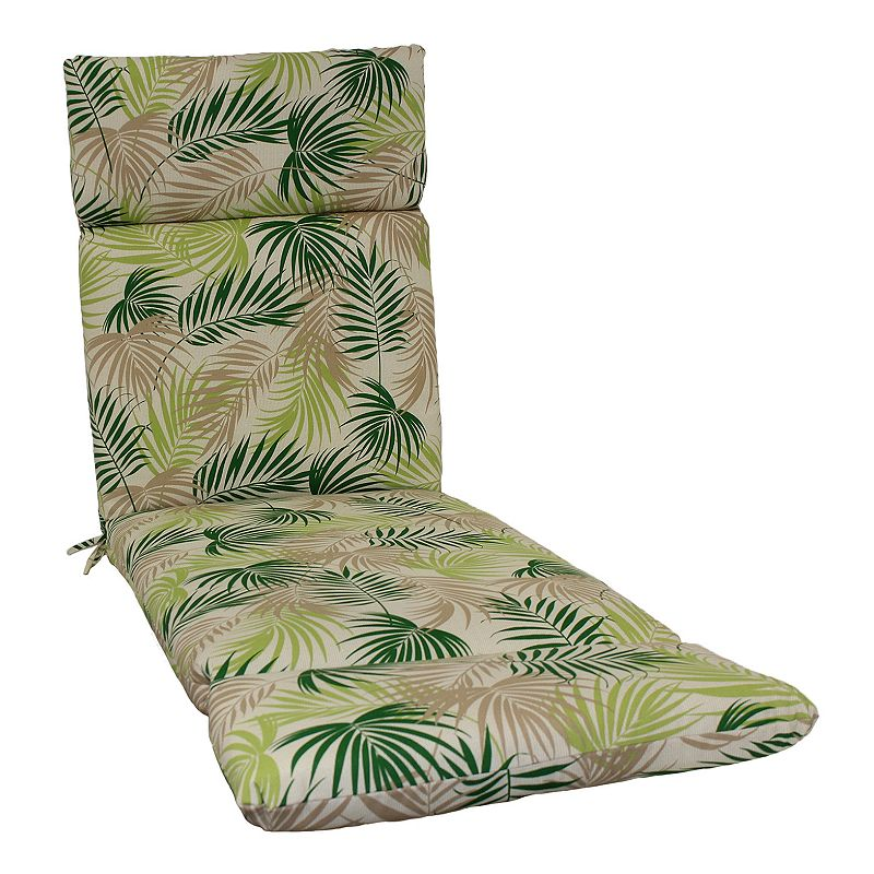 Sonoma outdoors indoor outdoor chaise lounge cushion for Alyssa outdoor chaise