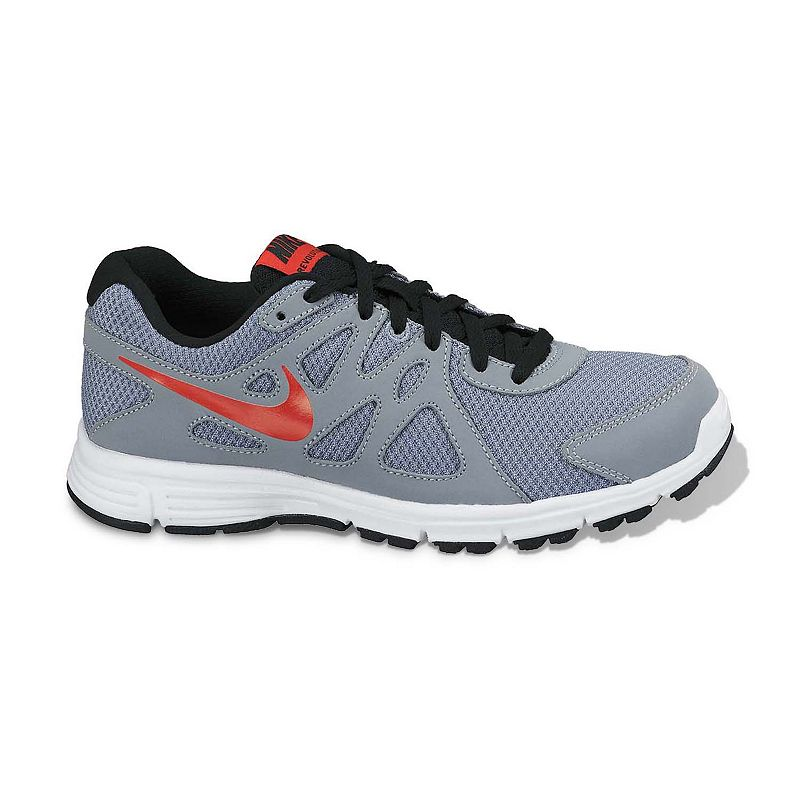 quality design f1048 42e0b Nike Black Revolution 2 Running Shoes - Grade School Boys
