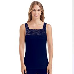 Cuddl Duds SofTech Lace-Trim Tank - Women's