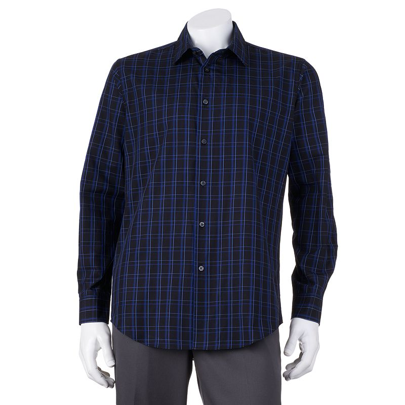 Van Heusen Polyester Striped Shirt Kohl 39 S