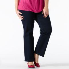 Plus Size Gloria Vanderbilt Amanda Tapered Jeans