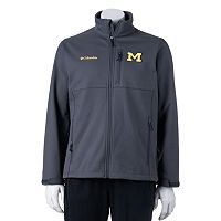 Columbia Michigan Wolverines Ascender Softshell Jacket - Men