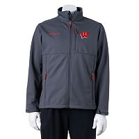 Columbia Wisconsin Badgers Ascender Softshell Jacket - Men