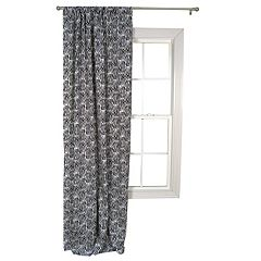 Trend Lab 1-Panel Zebra Window Drape