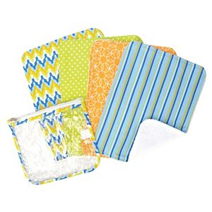 Trend Lab Baby Barnyard Burp Cloth Gift Set
