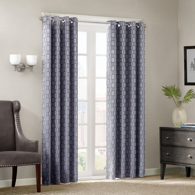 eclipse Cassidy Thermaback Blackout Window Panel - 52'' x 63''