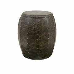 Madison Park Cirque Drum Accent Table