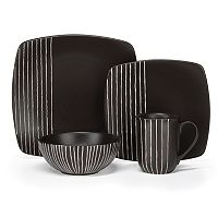 Cuisinart 16 pc Square Dinnerware Set