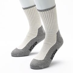 Men's Wigwam 2-pk. Ultimax At Work Durasole Pro Crew Socks