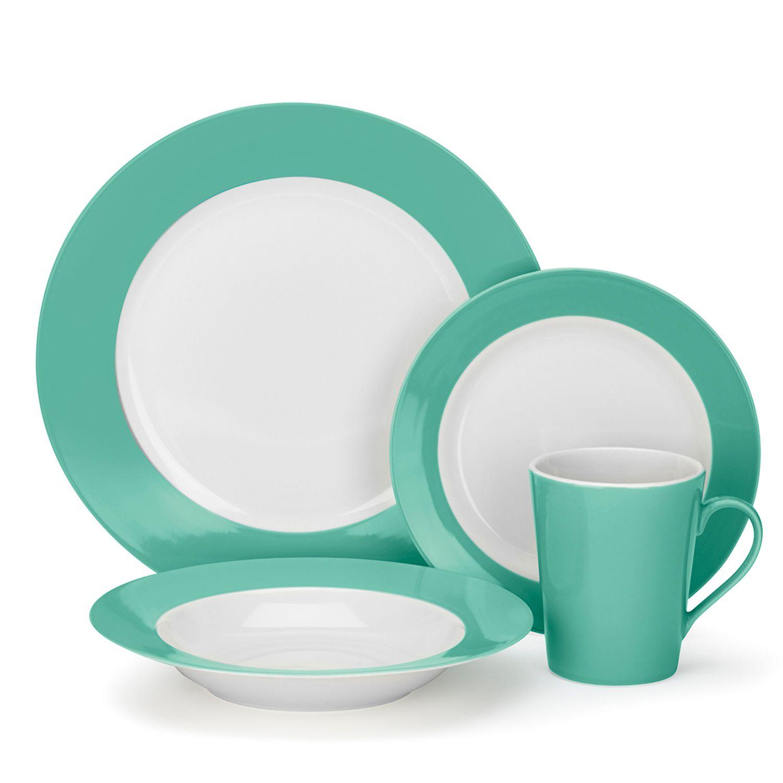Cuisinart 16-pc. Dinnerware Set  sc 1 st  Kohl\u0027s & 16-pc. Dinnerware Set