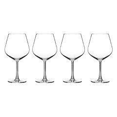 Cuisinart Classic Essentials 4-pc. Burgundy Wine Glass Set