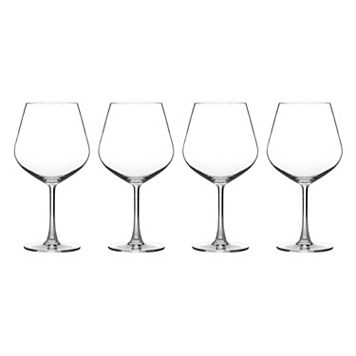 Cuisinart Classic Essentials 4-pc. Burgundy Wine Glass Set