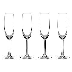 Cuisinart Classic Essentials 4-pc. Champagne Flute Set