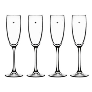 Cuisinart The Star's The Limit 4-pc. Champagne Flute Set