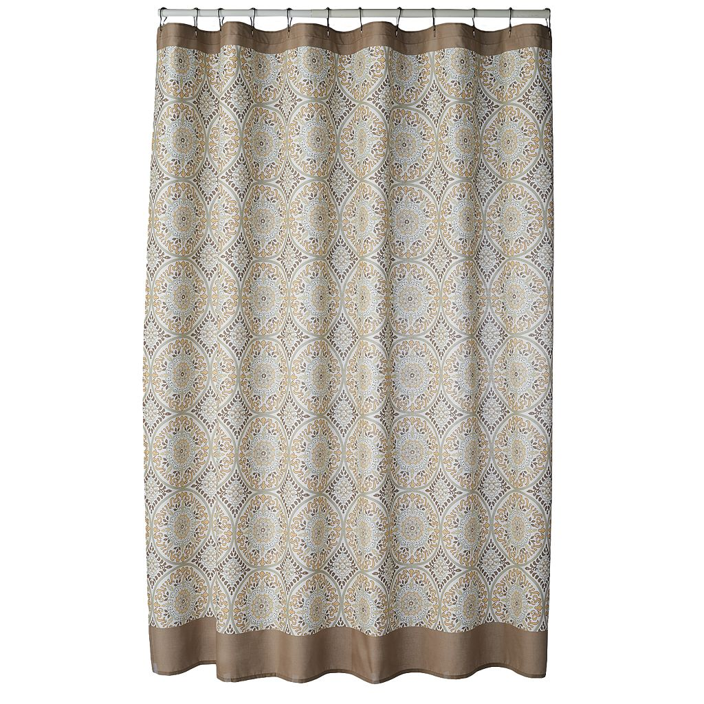 SONOMA Goods for Life™ Torrance Medallion Fabric Shower Curtain