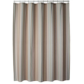 SONOMA Goods for Life™ Torrance Stripe Fabric Shower Curtain