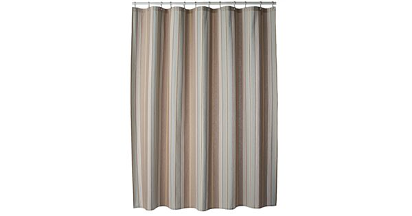 Sonoma Goods For Life Torrance Stripe Fabric Shower Curtain