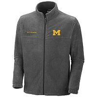 Columbia Michigan Wolverines Flanker II Full-Zip Fleece - Men