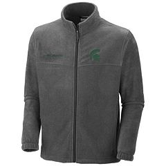 Columbia Michigan State Spartans Flanker II Full-Zip Fleece - Men