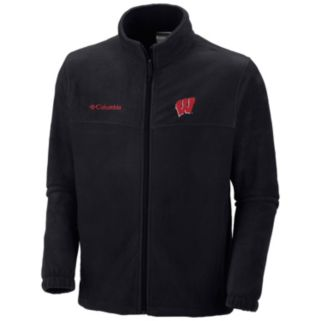 Columbia Wisconsin Badgers Flanker II Full-Zip Fleece - Men