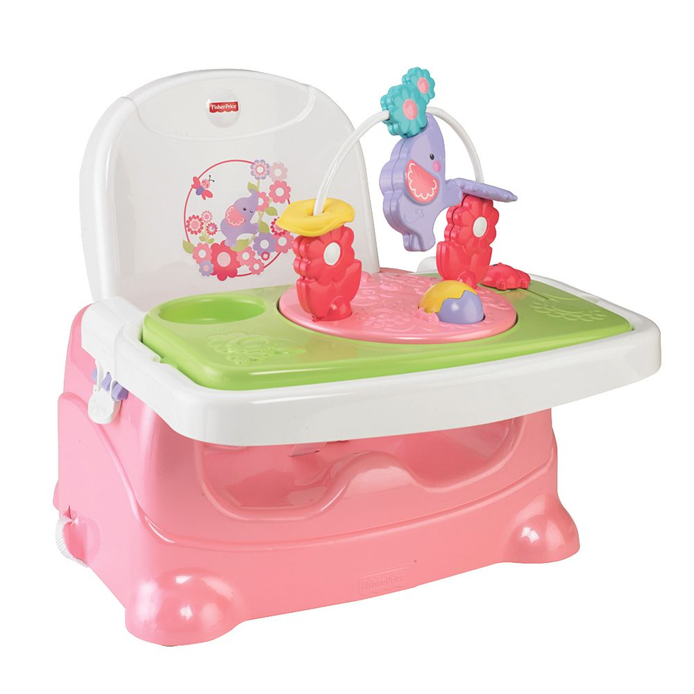 Fisher price booster chair - Fisher Price Pretty In Pink Elephant Booster Seat