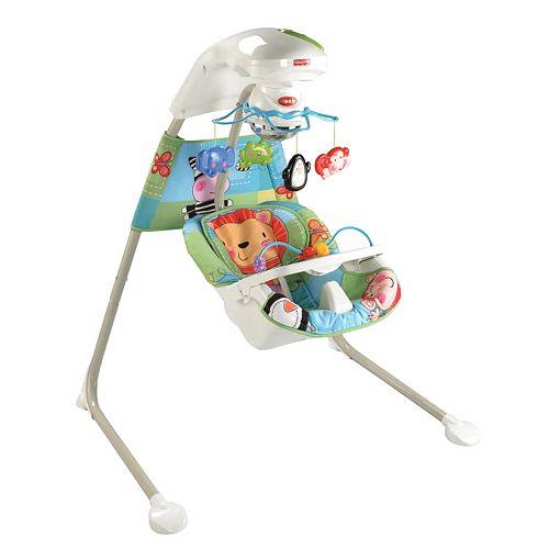 Fisher Price Rainforest Cradle Swing