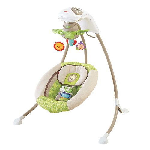 Fisher-Price Rainforest Friends Deluxe Cradle 'N Swing