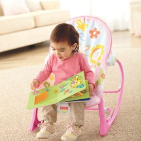 Fisher-Price Bunny Infant-to-Toddler Rocker