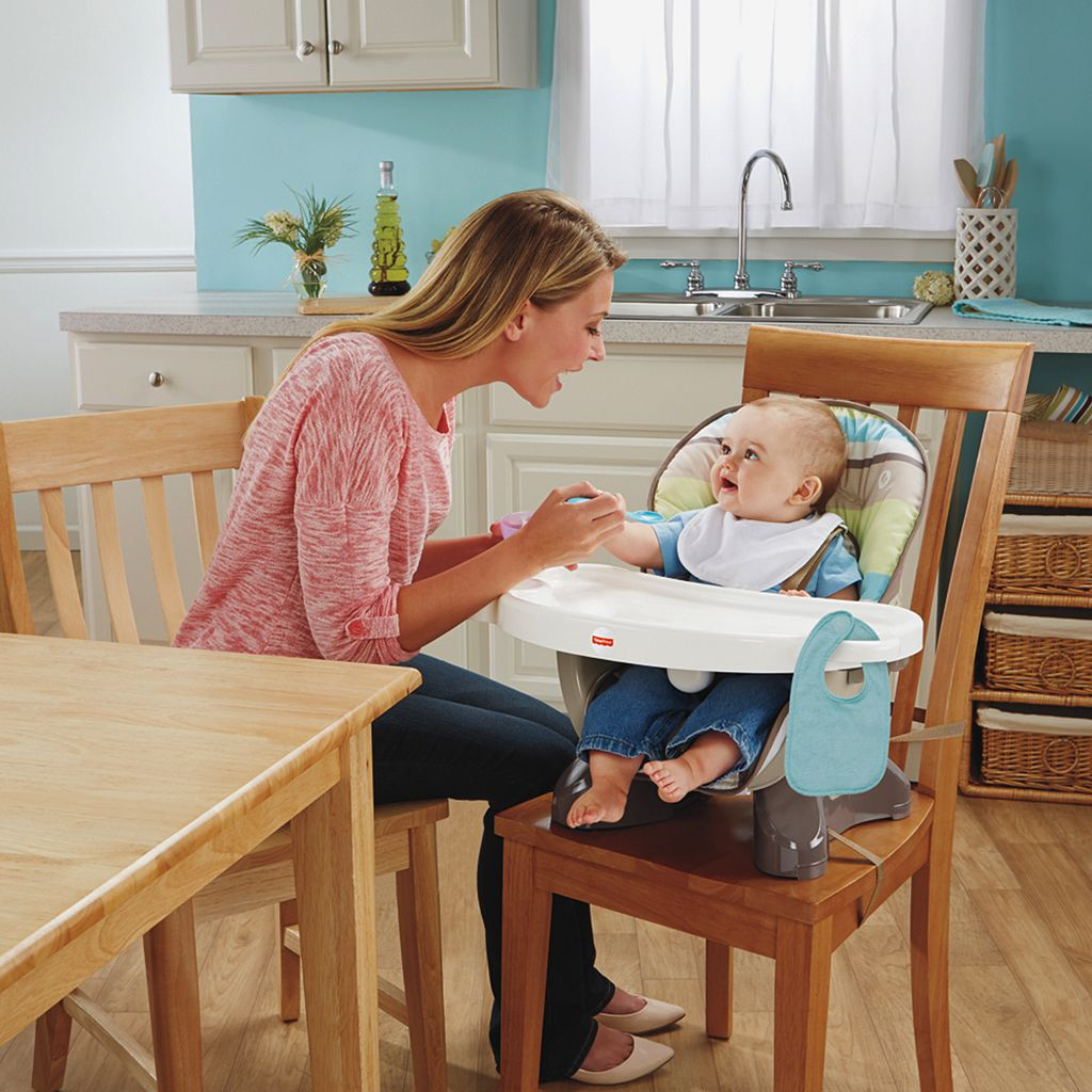 Fisher-Price Striped SpaceSaver High Chair