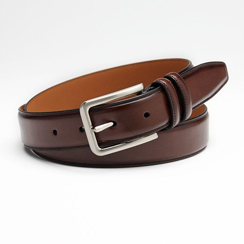 Croft & Barrow® Feather-Edge Stitched Belt - Big & Tall