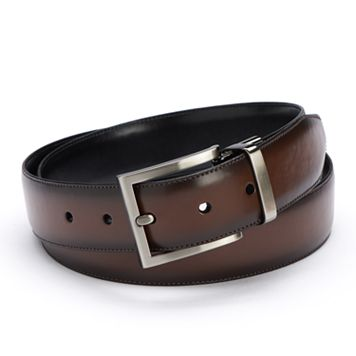 Apt. 9® Calf Grain Reversible Dress Belt - Men