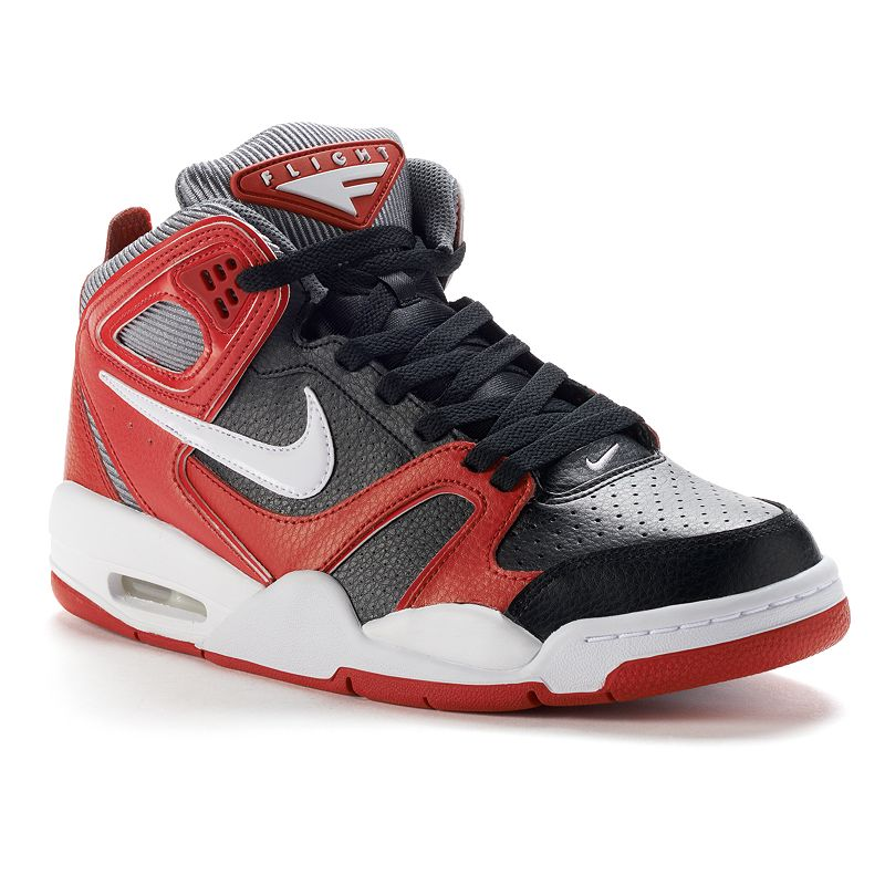 Nike Grey Air Flight Falcon Men's Basketball Shoes