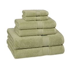 Kassatex Kassadesign Solid 6 pc Bath Towel Set