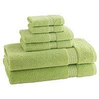 Kassatex Kassadesign Solid 6 pc Bath Towel Set