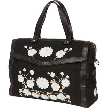 The Bumble Collection Flora Satchel Bag