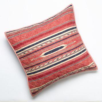 Chaps Telluride Rug Stripe Euro Sham