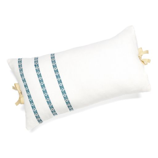 Chaps Telluride Oblong Embroidered Decorative Pillow
