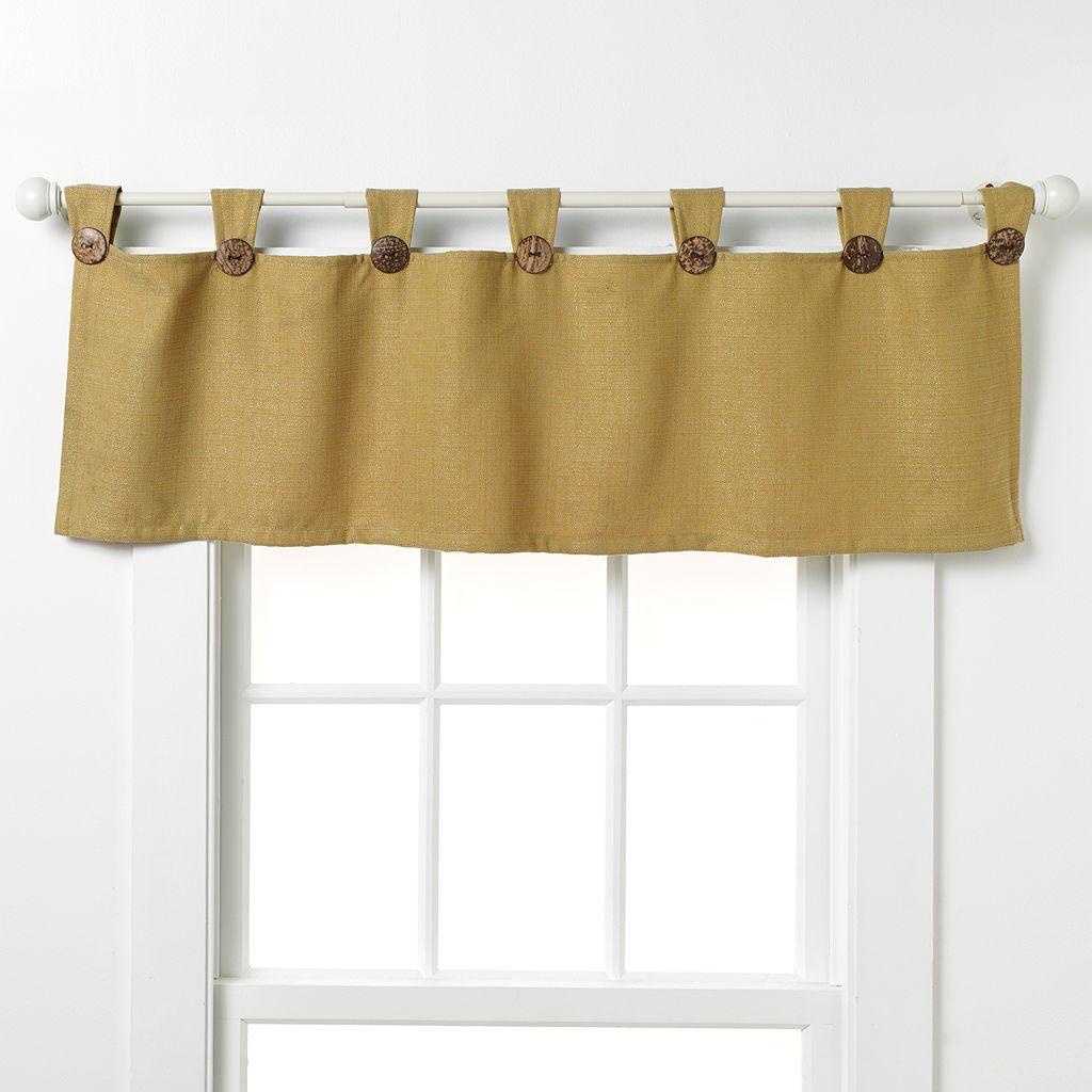 Westgate Dynasty Tab-Top Window Valance - 50'' x 17''