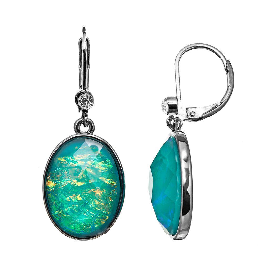 Simply Vera Vera Wang Oval Drop Earrings