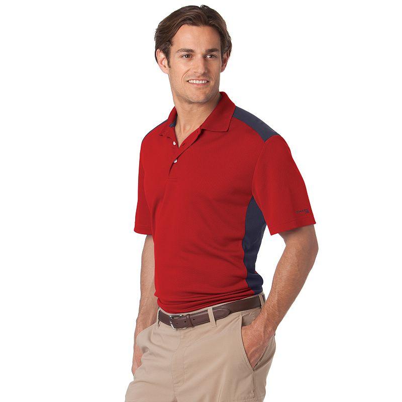 Chaps Colorblock Polo - Big & Tall