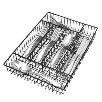 Oneida Landon 42-pc. Flatware Set with Storage Caddy