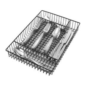Oneida Java 42-pc. Flatware Set with Storage Caddy