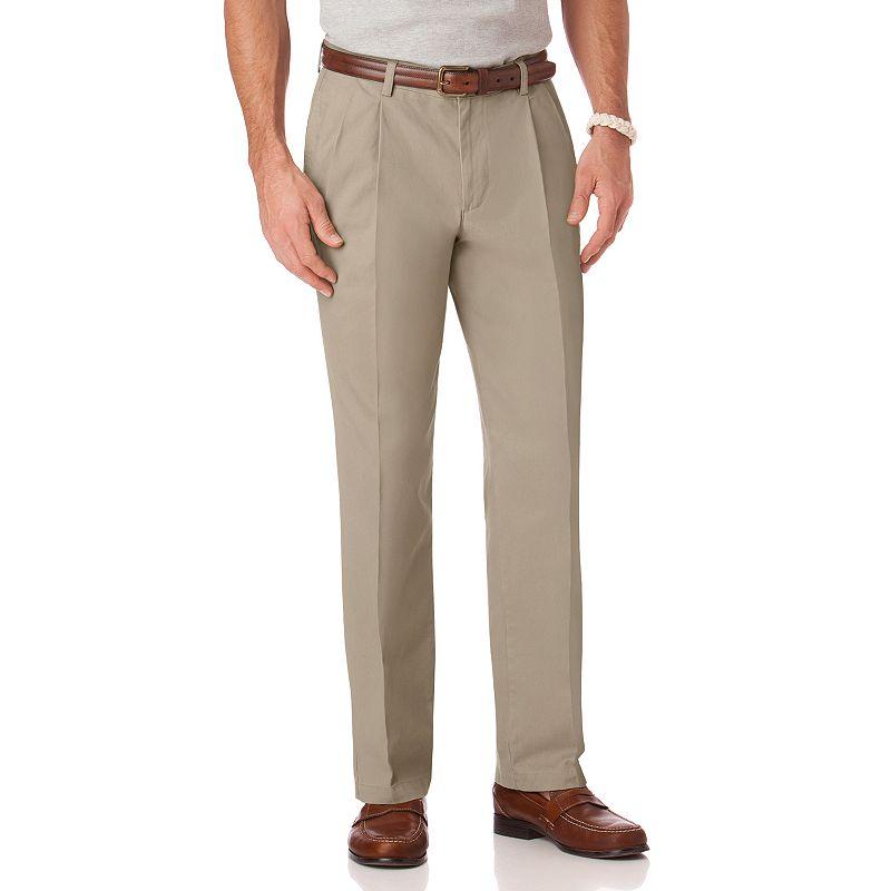 Big & Tall Chaps Classic-Fit Pleated Pants