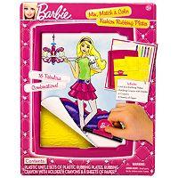 Barbie Mix, Match & Color Fashion Rubbing Plates by Mattel