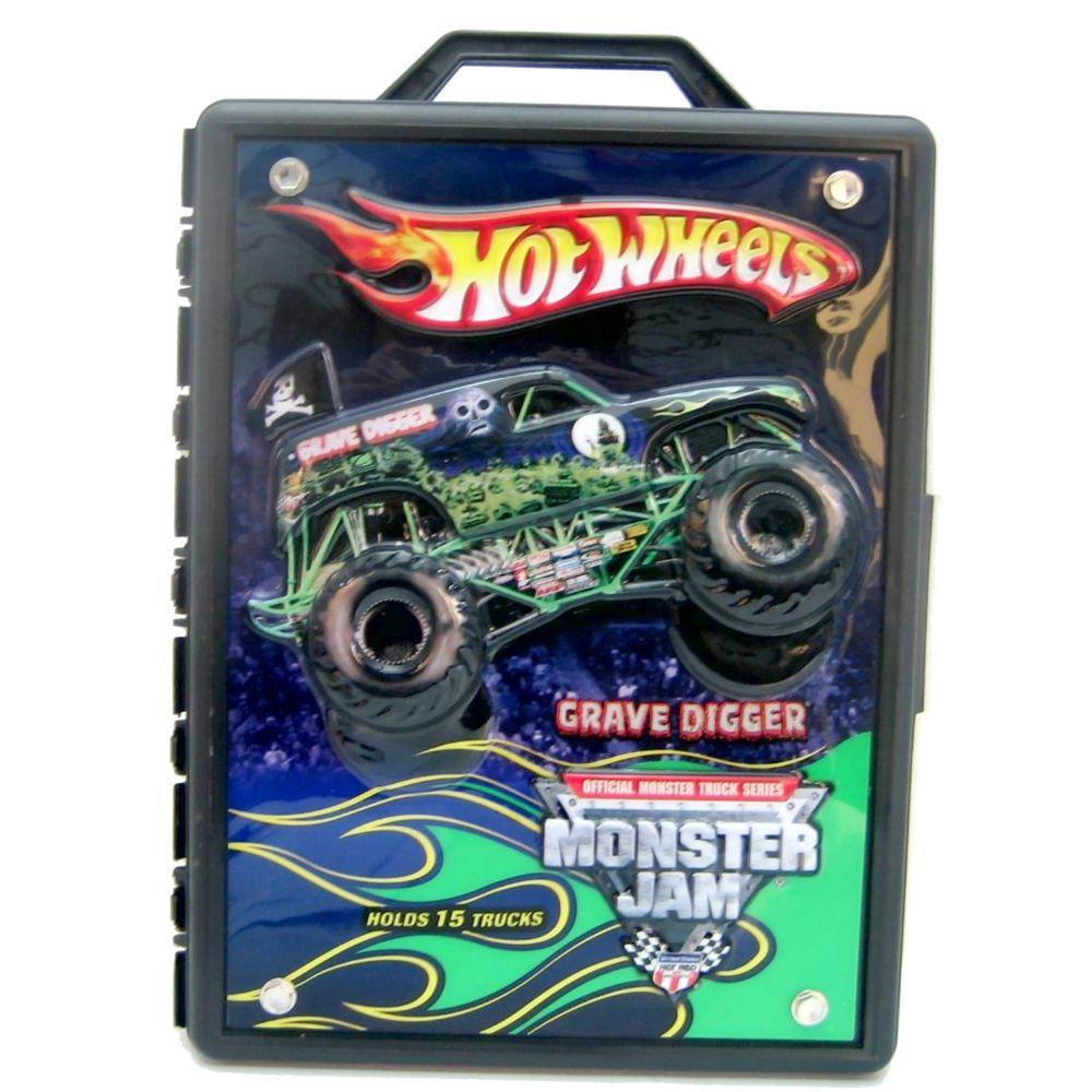 wheels monster jam truck case
